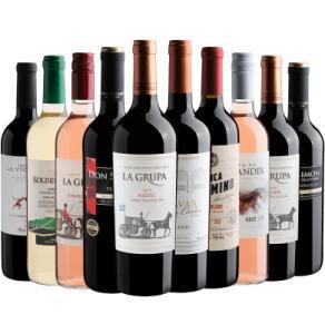 Kit 10 (10 garrafas de Vinho) por R$239,90