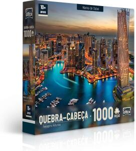 [PRIME] Quebra Cabeça 1000 Peças Paisagens Noturnas R$ 35,90