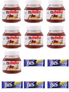 [APP+AME] 7 Nutella 140g + 5 Biss 126g | R$54