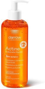 Actine Sabonete Líquido, pele oleosa a acneica, Darrow - 400ml | R$52
