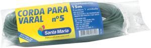 [PRIME] 15 M Corda Plástica para Varal | R$3,78
