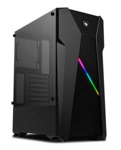 GABINETE GAMER PICHAU KRONEN RGB LATERAL VIDRO TEMP, PGKN-01 RGB | R$200