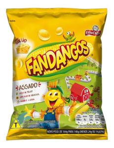 Salgadinho De Milho Queijo Elma Chips Fandangos Pacote 140g | R$3,90