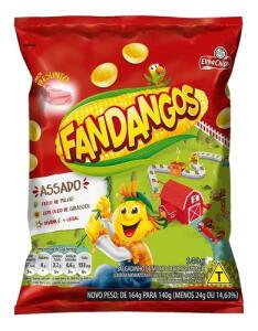 Salgadinho Sabor Presunto Elma Chips Fandangos Pacote 140g | R$3,90