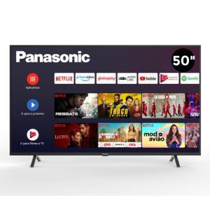 "Smart TV 4K 50"" Panasonic LED Ultra HD TC-50HX550B   R$2199"