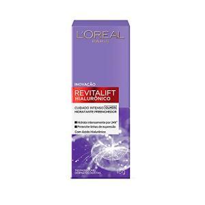 Creme Revitalift Hialurônico Olhos, L'Oréal Paris | Recorrência: R$30