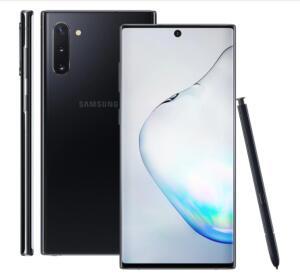Samsung Galaxy Note 10 Preto 256GB   R$ 2.699