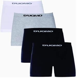 [PRIME] Kit de 4 Cuecas Boxer Básico, Duomo | R$59
