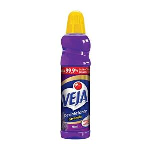 [PRIME] 8 UNID. Desinfetante Lavanda 480 Ml, Veja R$8