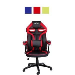Cadeira Gamer Preta/Vermelha Reclinável e Giratória GT7 - DPX