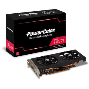 Placa de Vídeo PowerColor Radeon Navi RX 5500 XT, Dual Fan | R$ 1200