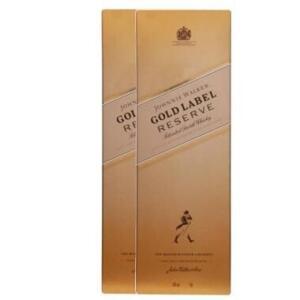 Kit 2 Whisky Johnnie Walker Gold Label Reserve 750ml | R$ 302 (Preço para sócios)