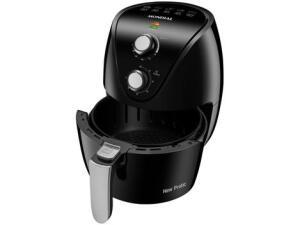 Fritadeira Elétrica sem Óleo/Air Fryer Mondial - New Pratic AF-31 Preto 3,5L com Timer - R$ 299