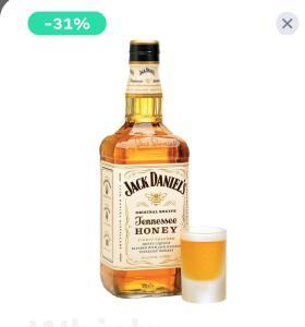 [JAMES APP] Whisky Jack Danniels Honey 1L - R$108