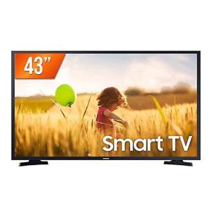 "Smart TV LED 43"" Full HD Samsung LH43BETMLGGXZD - R$1699"