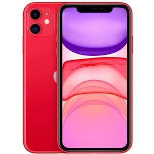 iPhone 11 128GB Vermelho iOS 4G Câmera 12MP - Apple - R$4749