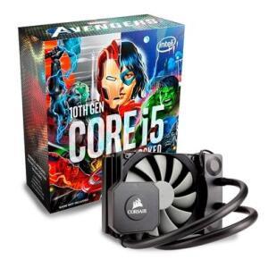Kit Processador Intel Core i5-10600K + WaterCooler Corsair Hydro Series High Performance H45 - R$2080