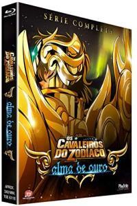 BluRay - Os Cavaleiros do Zodíaco - Alma de Ouro - Série Completa - R$178