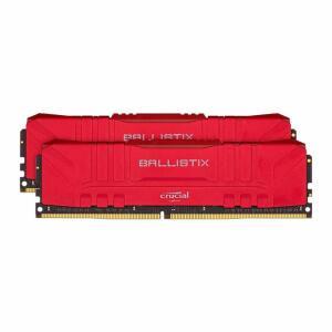Memoria Crucial Ballistix 16GB (2x8) DDR4 3200Mhz Vermelha | R$539