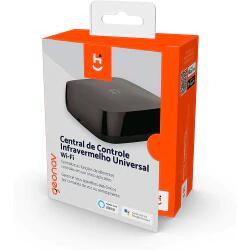 Controle Remoto Inteligente Universal Infravermelho Hi Geonav Preto HIRCIR | R$119