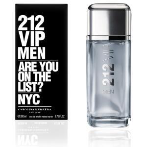 [APP + CUPOM] Perfume 212 Vip Men 200ml Eau de Toilette Masculino R$303