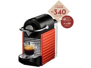 Cafeteira Nespresso Pixie GANHE R$ 340 em capsulas | R$ 409