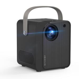 Projetor Blitzwolf® BW-VP7 LED 5000 Lux Mini SD com Speaker | R$430