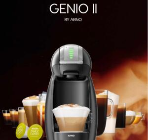 Cafeteira Dolce Gusto Genio II + 30 capsulas | R$330