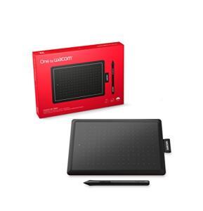 Wacom One CTL472 - Mesa Digitalizadora, Preto / Vermelho | R$ 314