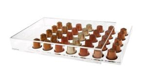 Porta Cápsula Acrílico de Gaveta Nespresso - Compatível com Cápsulas Nespresso® - 35 un. | R$200