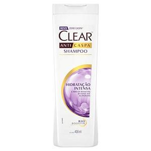 2 unidades de Shampoo Anticaspa Women Hidratação Intensa, Clear, 400 ml | R$22