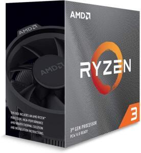 Processador AMD Ryzen 3 3100 Box AM4 4 Cores 8 Threads 3.6GHz 18MB   R$850