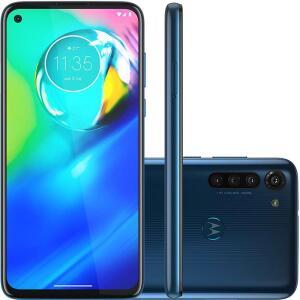 Celular Motorola Moto G8 Power Azul 4GB Tela 6.4 64GB Camera 16MP 8MP/8MP/2MP - R$1104