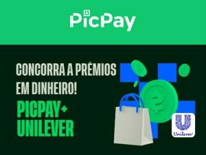 Promoção Unilever | Picpay - Sorteio de até R$1.000.000,00