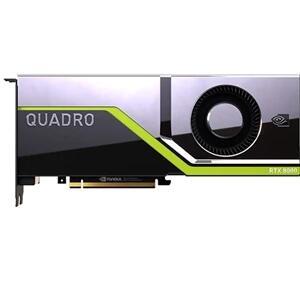 NVIDIA Quadro RTX 8000 48 GB, 260W, dupla Slot, PCIe x16 Passiva Cooled, altura integral GPU, Customer Install