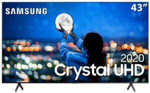 "Samsung SmartTV 43"" 4K 43TU7000 (Crystal UHD) | R$1804"