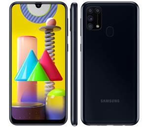 Samsung M31 128GB 6GB RAM Android 10   R$1499