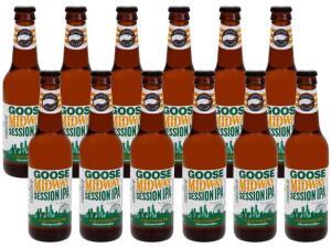 (App + Cliente Ouro) Cerveja Goose Island IPA 12 unidades | R$59