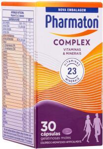 [PRIME] Multivitamínico Pharmaton Complex, 30 | R$27