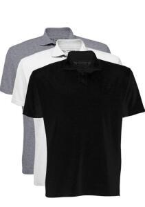 [PRIME] Kit 3 Camisetas Polo, Basicamente, Masculino | R$60