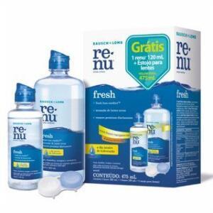 Renu Fresh Kit 355ml + 120ml + estojo | R$ 29