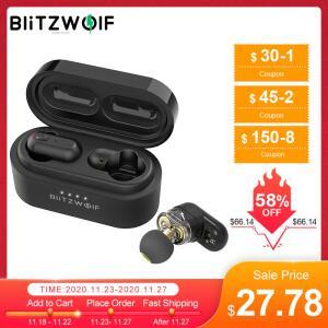 Fone de Ouvido Bluetooth Blitzwolf® BW-FYE7 TWS | R$155