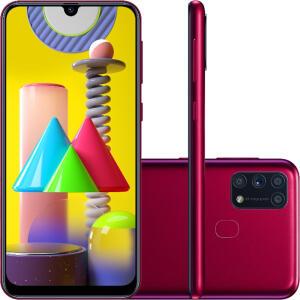 Smartphone Samsung Galaxy M31 - 128GB - Rosa | R$ 1499