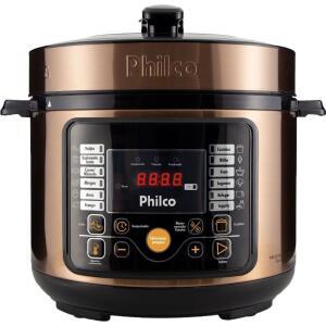 [C.Americanas] Panela De Pressão Elétrica Philco 5L Multifuncional Digital Gold | R$330