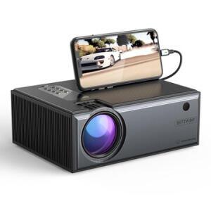 Projetor Blitzwolf® BW-VP1 Pro LCD 2800 Lumen HD + Controle Remoto | R$ 433