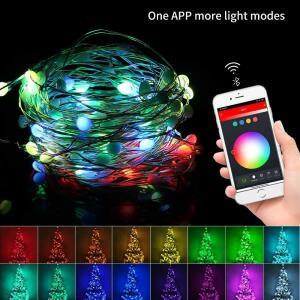 USB LED String Light com Controle via Google/Alexa | R$ 89