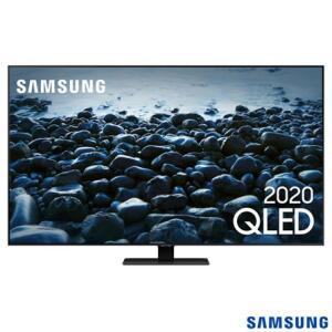 """Samsung Smart TV QLED 4K Q80T 55"""", Pontos Quânticos, Modo Game, Som em Movimento, Alexa built in, Borda Infinita - R$4999"""