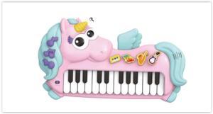 Piano Musical Infantil Braskit Unicórnio | R$ 100