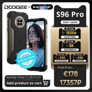 Smartphone DOOGEE S96 Pro Rugged Phone 8GB+128GB | R$1.345