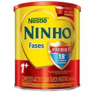 Composto Lácteo Nestlé Ninho Fases 1+ 800g | R$21 (na compra de 4)